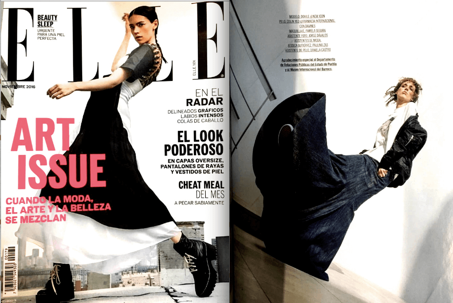 Elle Mexico November Issue 2016