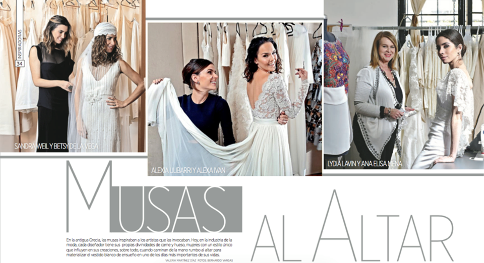 Alexia Ulibarri Bridal en Reforma Club May 2016