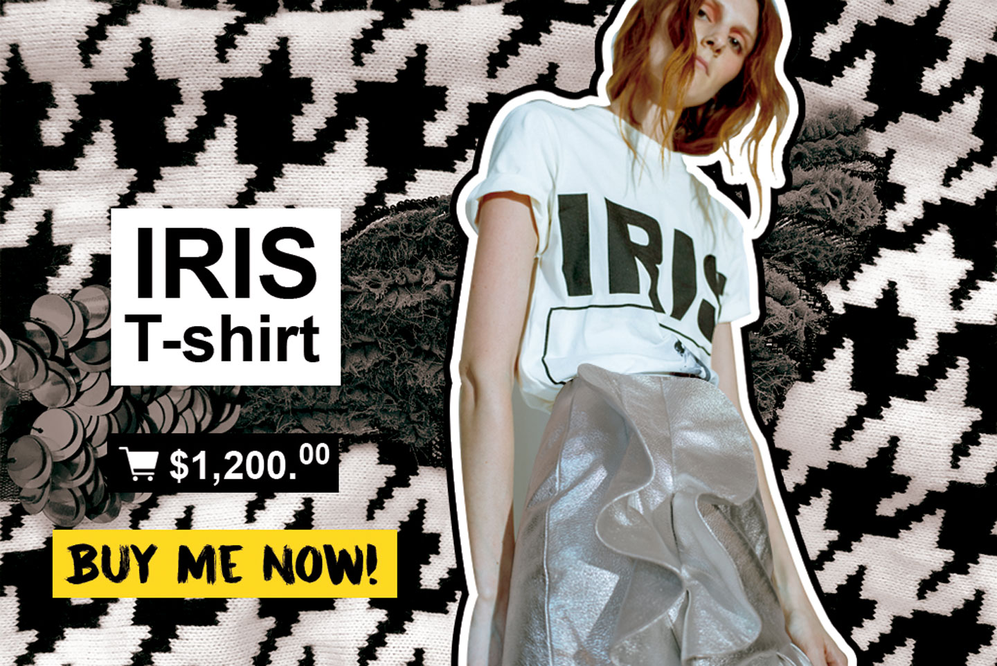 Iris T-shirt Shop Online